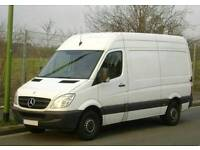 Fully insured man and van Service, House Cleaners, Short and Long Distance