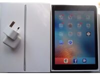 iPad Air2 64GB slate grey 6 months old, near mint condition, boxed with charger and cable
