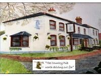 Part-time morning ( wed to Friday) cleaner and washer-up for country pub between Newbury & Wantage