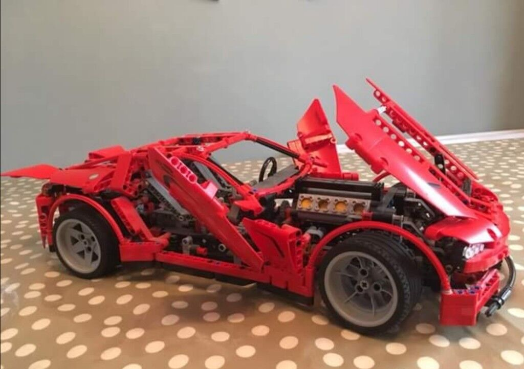 Lego Technic Supercar In Leicester Leicestershire Gumtree