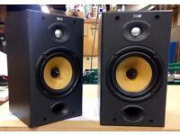 B&W DM601 S2 Standmount speakers