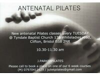 Antenatal Pilates classes