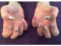 Gelish, Shellac, waxing , tinting, lash extensions, Defined brows
