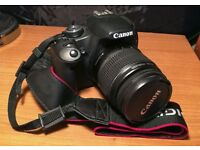 **SOLD** Canon 500D + Kit Lens