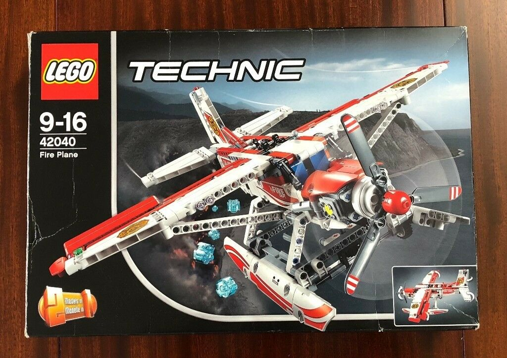 LEGO Technic 42040 Fire Plane Boxed | New Stickers | | in London ...