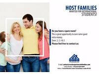 Host families Needed for international students!