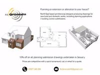 Architect / CAD Plan Drawer available for Planning Applications & BC Submissions