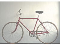 Superb Lightweight bike Vintage Puch Single speed freewheel/not fixie, Serviced