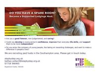 Have you got a spare room? could you help support a homeless teenager whilst being paid?