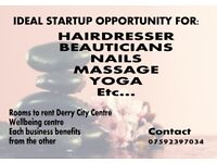 Hairdressing / Beauty / Treatment / Massage / Counsellor Rooms to rent