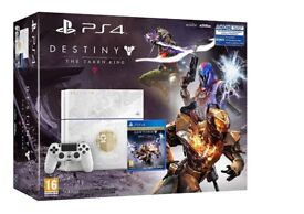 Destiny taking king PS4 console with box 6 games and gaming headset