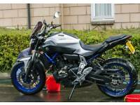 2015 Yamaha MT07 ABS Model. 6200 miles. Akrapovic exhaust + other extras