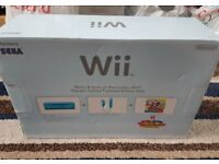 NINTENDO WII BLUE LIMITED EDITION+5games