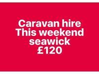 Caravan hire