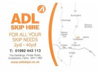 ADL Skip Hire has established an enviable reputation for expertise and quality service.