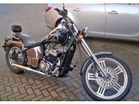 AJS Motorbike Chopper EOS125