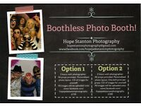 Booth-less Photo Booth for hire at Parties.