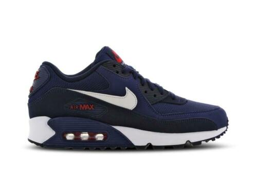 air max 90 blauw wit