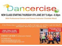 Adult Dancercise fitness classes