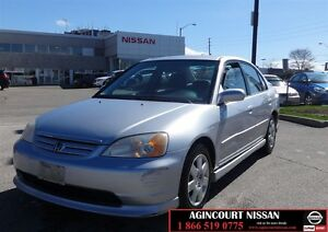 2002 Honda Civic LX-G |AS-IS SUPER SAVER|