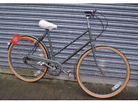 "Hercules 'Commuter' Retro Ladies Bicycle : 22"""