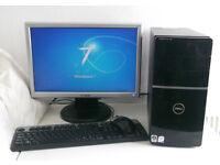 Dell V2 + 7 Games (Gaming PC, Monitor, K/M, 4GB Ram + 1GB Nvidia GT, E8400, i5, Desktop PC, Computer