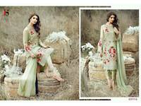 Deepsy razeena. Unstitched Designer salwar kameez