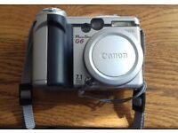 Canon G6 Digital camera.