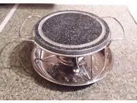 STONE GRILL 19cm (Blix) - Used but excellent cond.