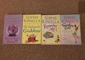 Sophie Kinsella book set of 4