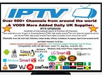 IPTV UPGRADE FOR ALL SMART DEVICES ANDROID MAC ENGIMA2 MAGBOX SMART TV UK No1 FIRESTICK