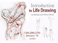 An Introduction to Life Drawing - A series of three workshop