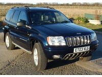 Jeep Grand Cherokee 2.7 CRD Overland Station Wagon 2003