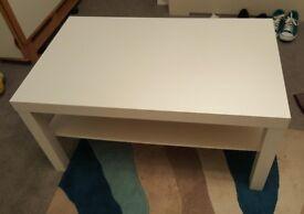 IKEA WHITE LACK COFFEE TABLE