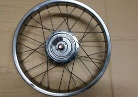 Raleigh Chopper Mk1 very rare Dimpled Rim & Dynohub Front wheel