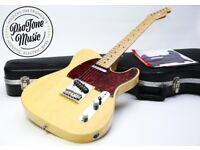 Fender USA FSR Rustic Ash Limited Edition Telecaster Butterscotch Blonde & Fender Hard Case