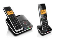 BT Xenon 1500 DECT Digital Cordless Phone with Digital Answering Machine & Caller Display - Twin