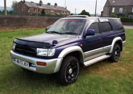 1996 TOYOTA HILUX SURF 3.0 SSR-X LIMITED 4X4 AIR CON (KZN185) AUTOMATIC GREAT CONDITION OUTSTANDING