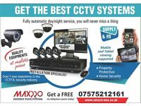 Full HD CCTV Systems, Clear Image Night Vision Installation and FREE Remote Setup