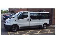 Vauxhall Vivaro 9 Seater Minibus