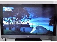 SONY 40 inch SMART TV, Full HD 1080, Freeview HD, DLNA with 100Hz, online Apps & eco features