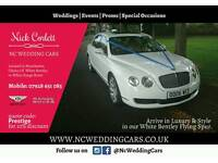 Wedding Hire Bentley and Chauffeur Reasonable Prices