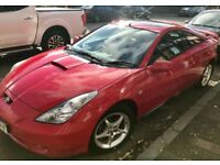 2002 (02) TOYOTA CELICA 1.8 COUPE 3 DOOR VVTI WITH PREMIUM PACK