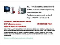 COMPUTER and APPLE MAC REPAIR SERVICE 24/7,