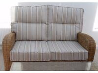 Quality Conservatory Furniture - 2-seater Sofa – as new – £525 or make me an offer