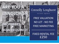 Landlords Required! Special January offer