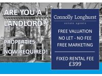 Landlords Required!