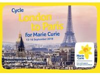 Take on a once in a lifetime challenge for Marie Curie!