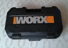 400W WORX SAW with Laser and Storage Case, Brand New in the Box.