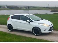 Ford Fiesta Titanium 1.6 TDCI - White - 60 Reg - 55k - FSH - £20 Road Tax - IMMACULATE